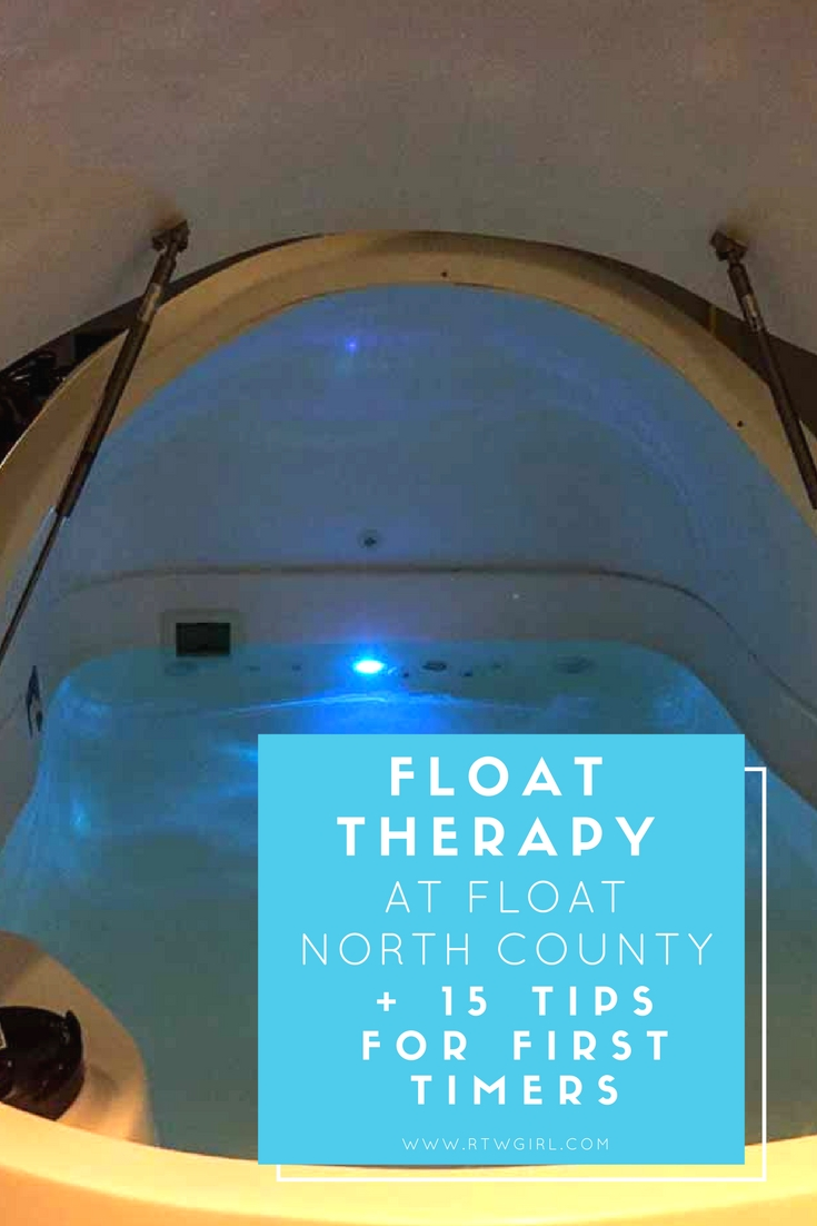 Float Therapy at Float North County + 15 Tips | www.rtwgirl.com