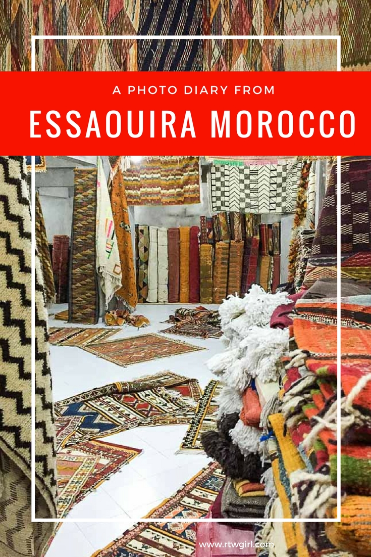 Need some photo inspiration of Essaouira? Here is a photo diary from Essaouira Morocco | www.rtwgirl.com