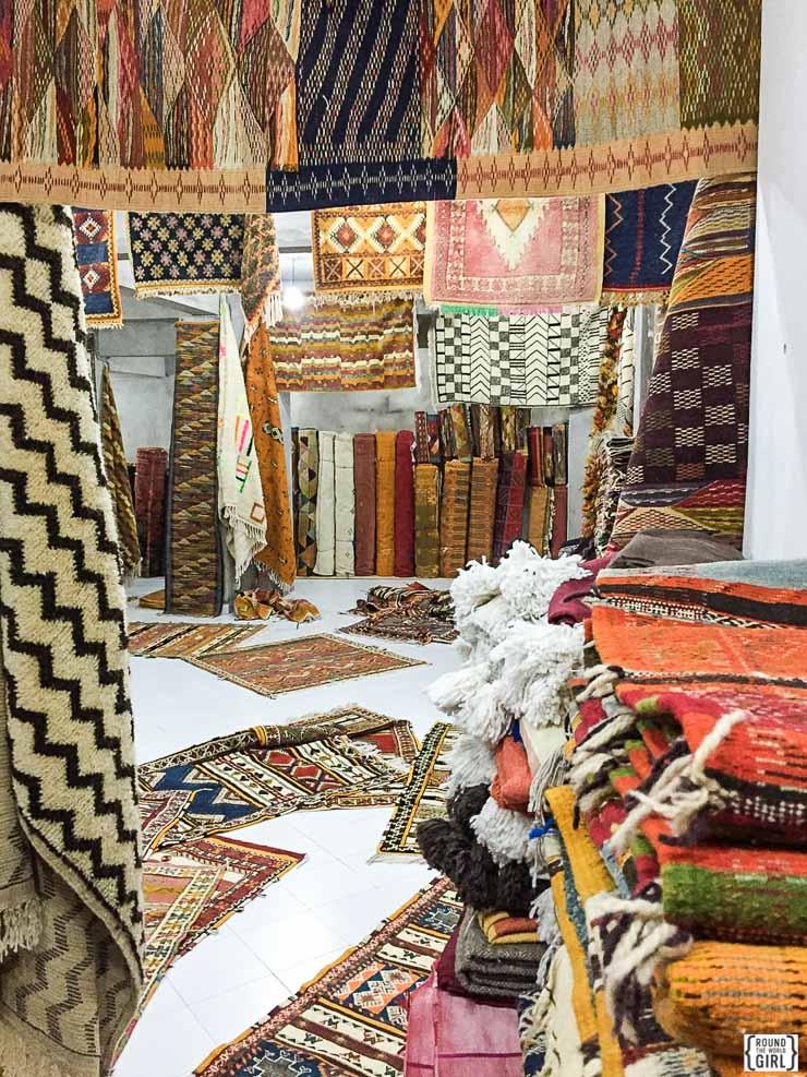 Essaouira carpets | www.rtwgirl.com