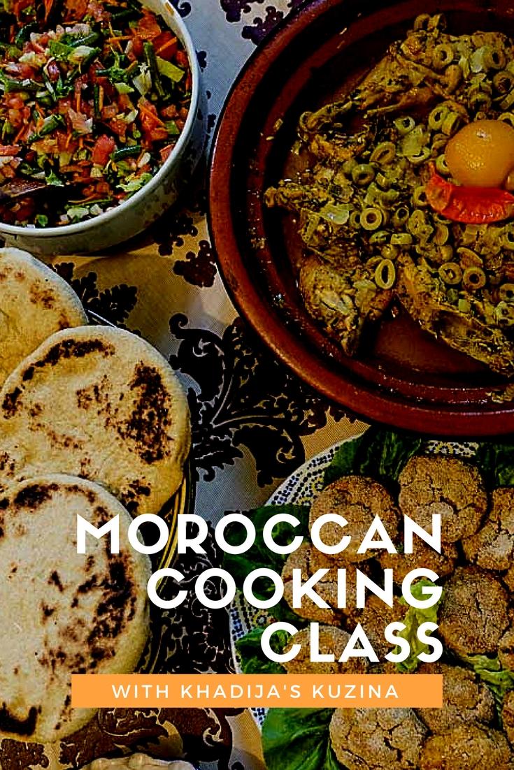 Moroccan Cooking class with Khadija's Kuzina | www.rtwgirl.com