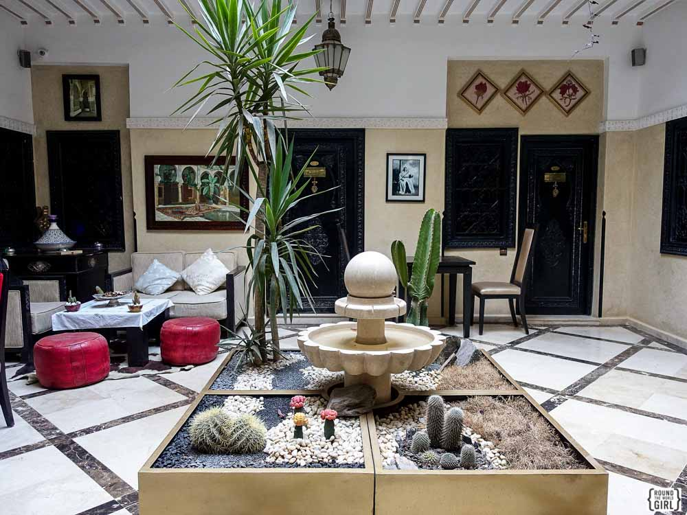 Morocco Riads Where To Stay | via www.rtwgirl.com