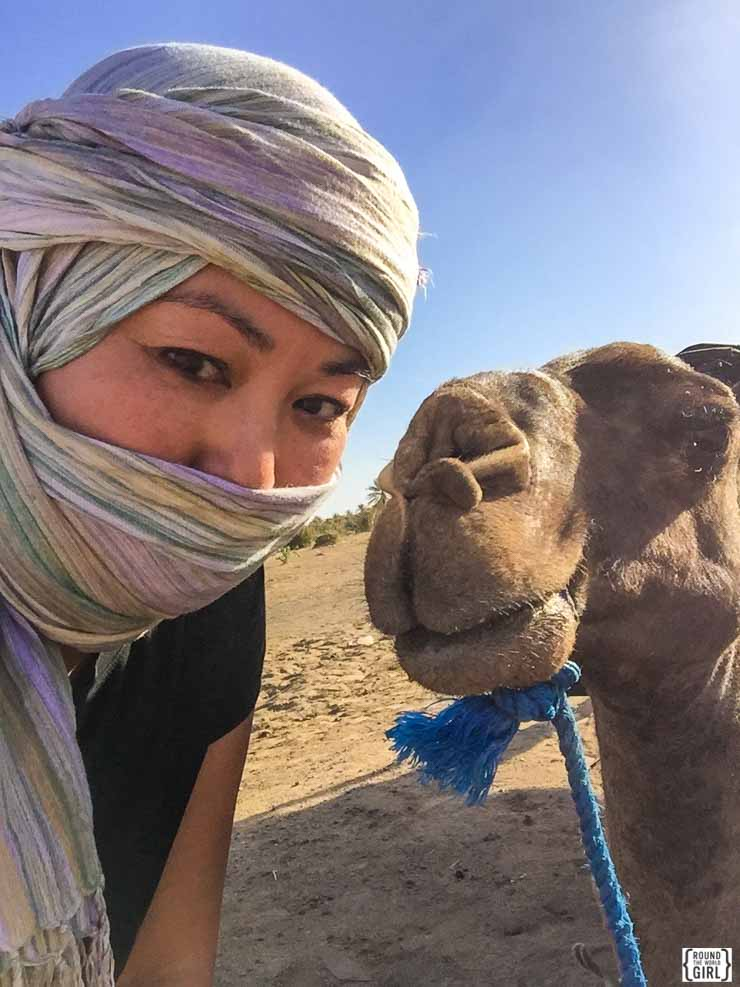 Sahara Desert overnight - Morocco Itinerary | www.rtwgirl.com