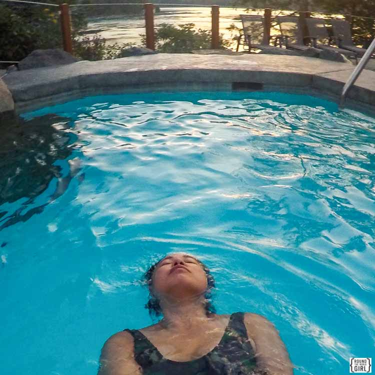 Sonora Resort morning swim   www.rtwgirl.com