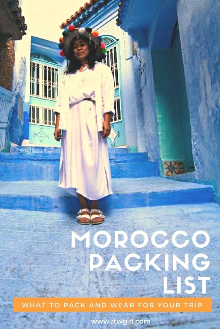 Morocco Packing List: What To Pack And Wear In Morocco | www.rtwgirl.com