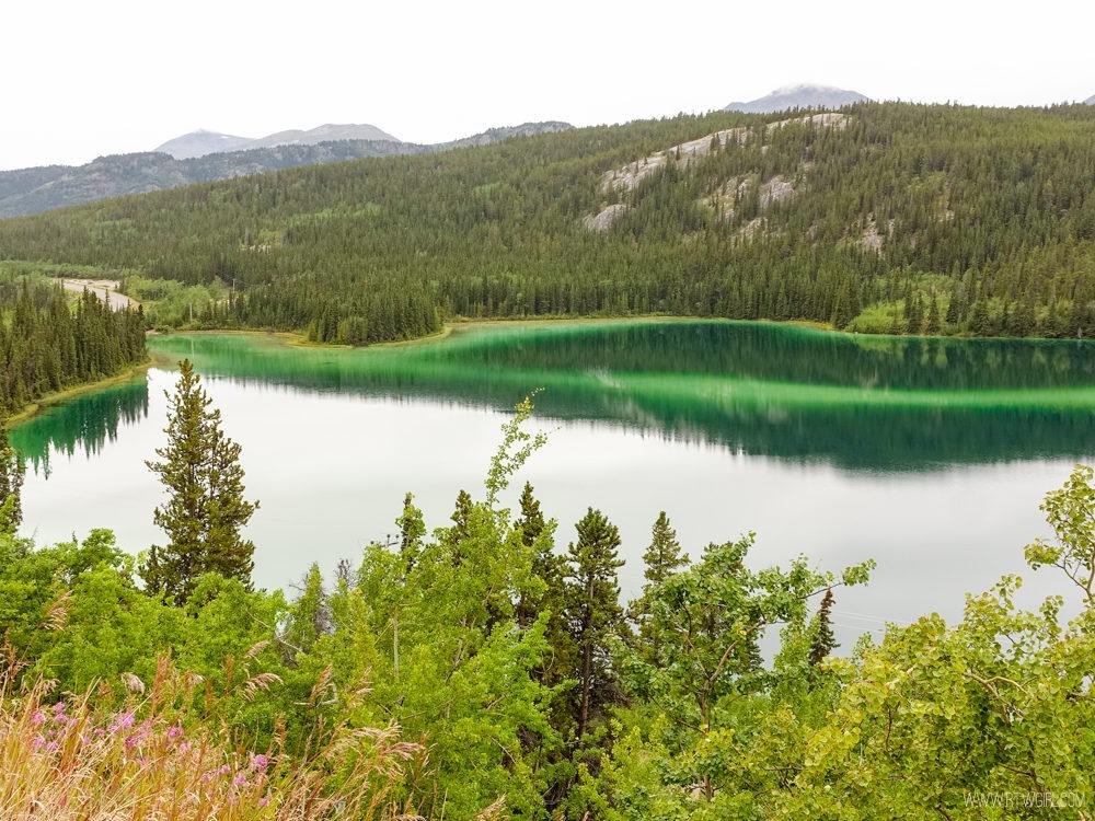 Emerald Lake in Yukon Territories | www.rtwgirl.com