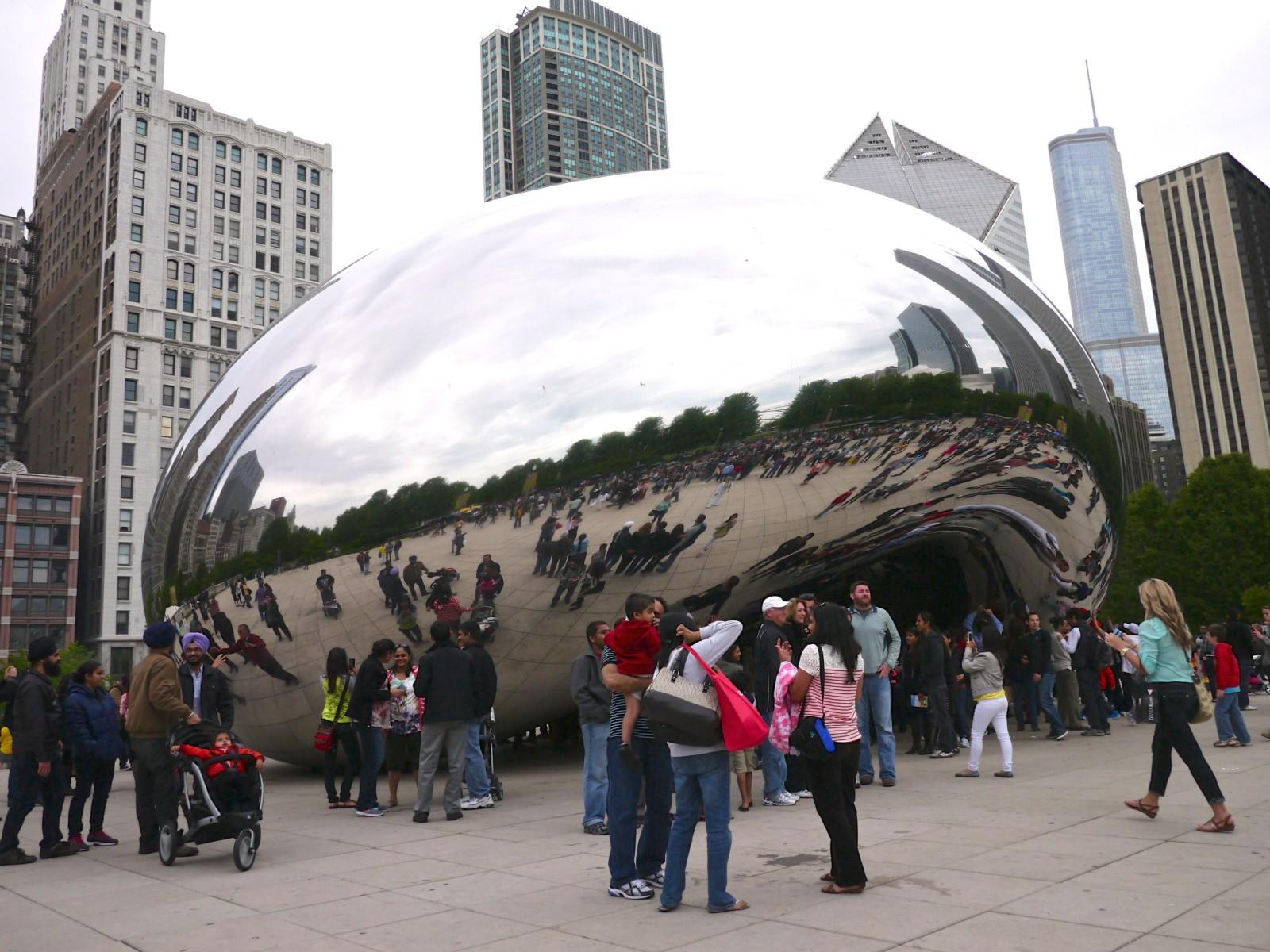 Cloud Gate - Chicago | www.rtwgirl.com