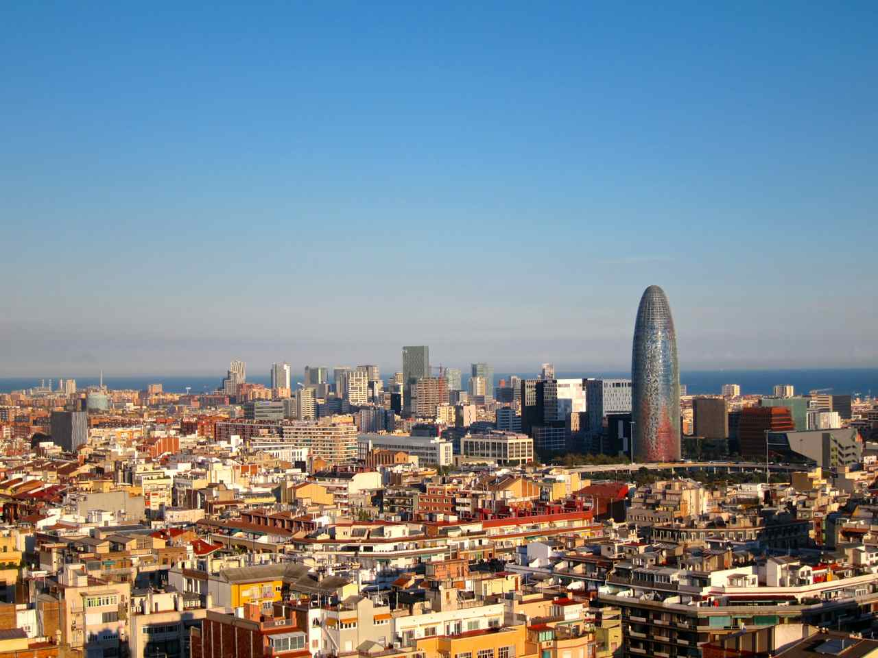 View of Barcelona from Sagrada Familia- Barcelona Inspiration   www.rtwgirl.com