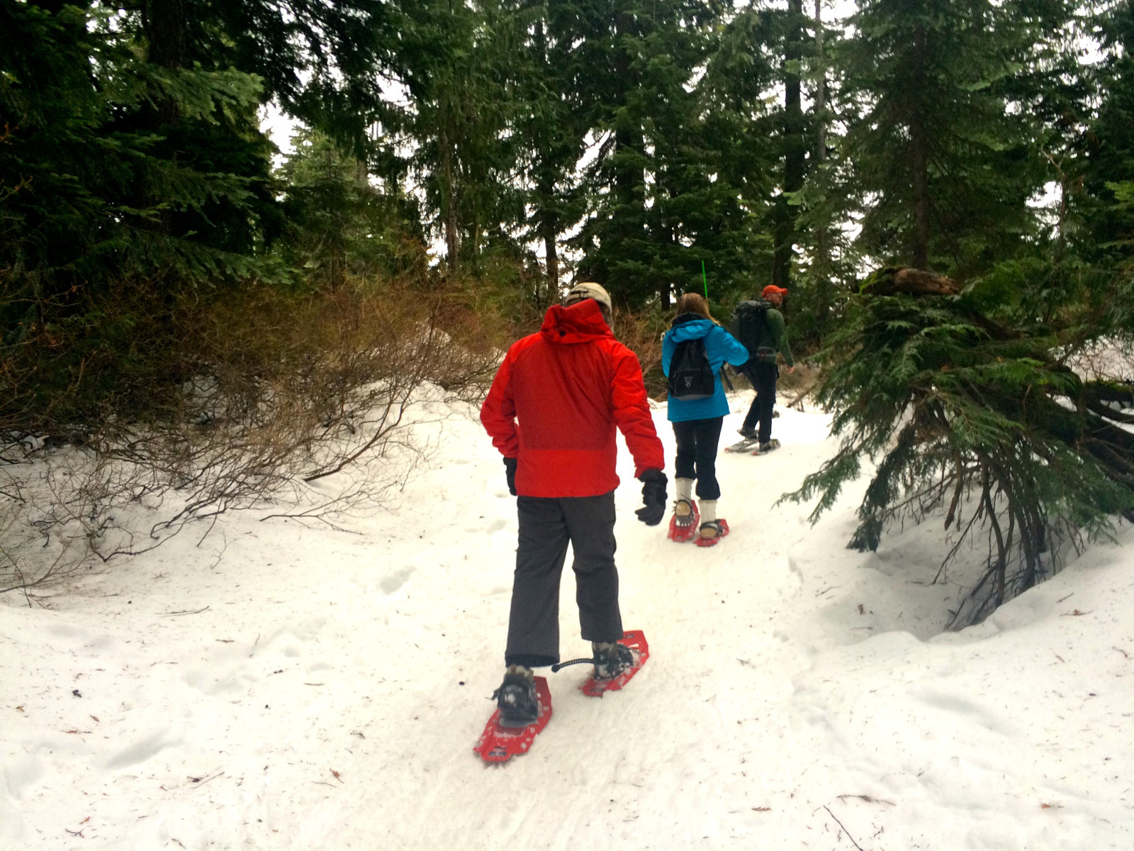 Travel Fitness - Snowshoeing