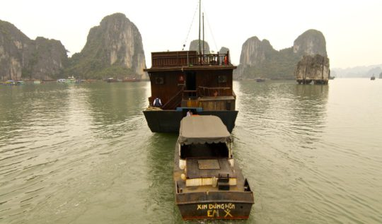 Ha Long Bay Vietnam | www.rtwgirl.com