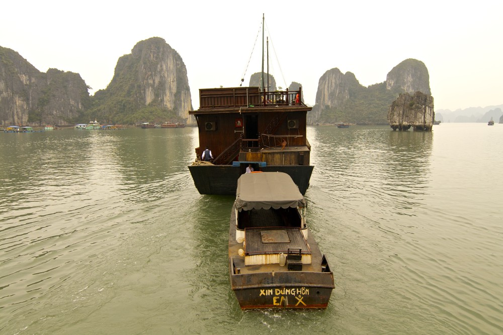 Ha Long Bay Vietnam   www.rtwgirl.com
