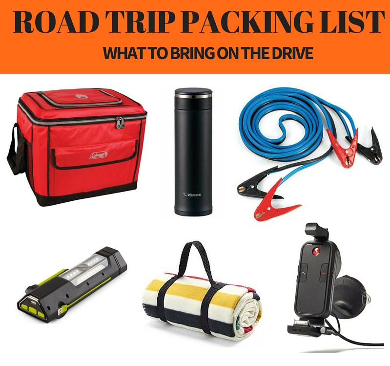 ROAD TRIP PACKING LIST | www.rtwgirl.com