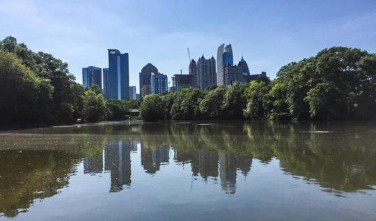 Piedmont Park Atlanta | www.rtwgirl.com