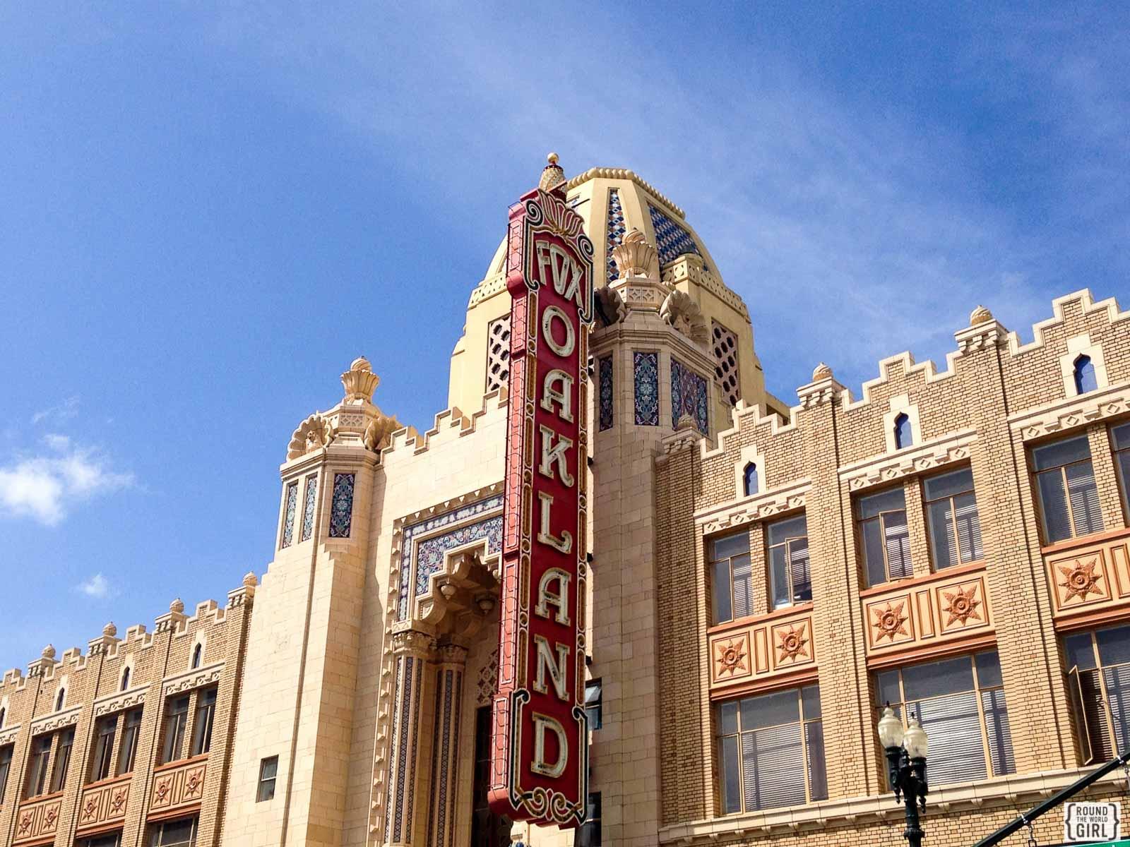 Fox Theater Oakland   www.rtwgirl.com