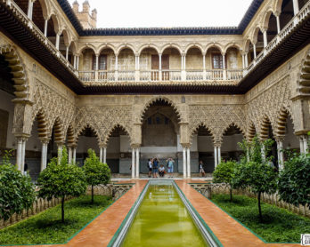 Real Alcazar de Sevilla | www.rtwgirl.com