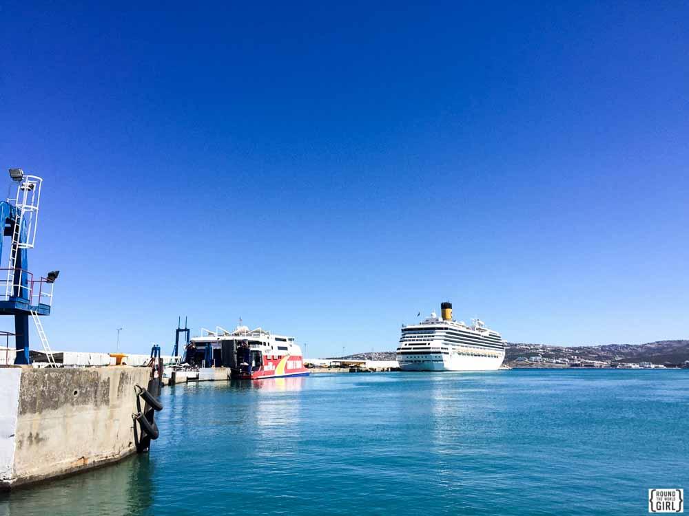Morocco Ferry | www.rtwgirl.com