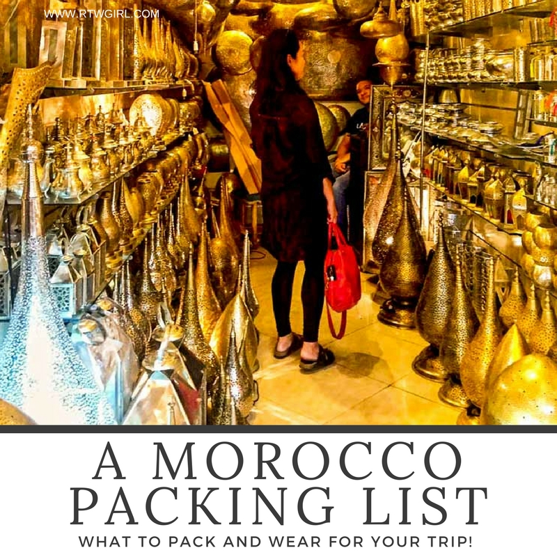 Morocco Packing List For Women What To Pack For Your Trip