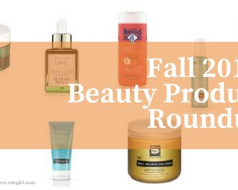 Fall 2017 Beauty Product Roundup | www.rtwgirl.com
